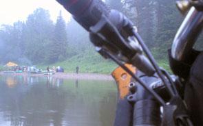 Вид на водных туристов
