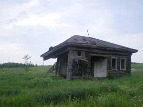 Типичный деревенский пейзаж