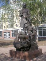 Памятник П. Ершову
