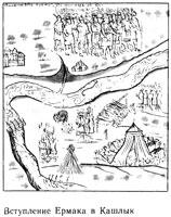 Вступление Ермака в Искер